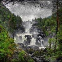 Чульчинский водопад :: Алексей Карташев