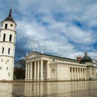 Кафедральная площадь, Вильнюс :: Александр Антонович