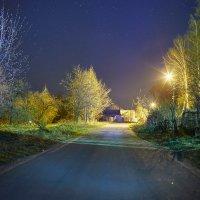 Звёзды, улица, фонарь :: Александр Алекс