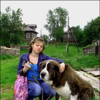 Поморская деревня Тамица :: Валентин Кузьмин