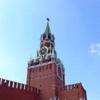 Спасская башня после реставрации :: Валерий Судачок