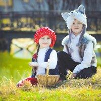 красная шапочка и волк :: Оксана Яковлева