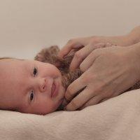 Малыш Антон, 1 месяц :: Andrey Ogryzkov