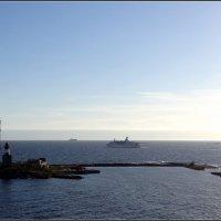 Маяк на острове Хармая :: Вера
