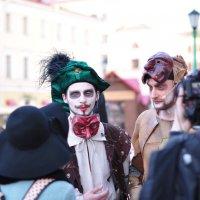 Актеры уличного спектакля :: Юленька Шуховцева*