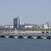 Панорама Кировского и Каслинского мостов :: Натали Акшинцева