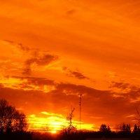 Просто так, неожиданно пришел закат... :: Mariya laimite