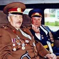 Ветераны Великой Отечественной войны.  Симферополь, 9 Мая, 2000 год :: Нина Корешкова