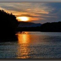 Люблю вечерний я закат  И горизонт с вечерним солнцем... :: Людмила Богданова (Скачко)