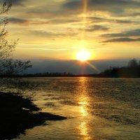 И поплыло солнце по реке.... :: nadyasilyuk Вознюк