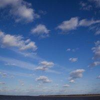 Облака над Обью :: Марина Тверитнева