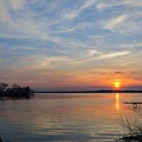закат с перистыми облaками :: Galina