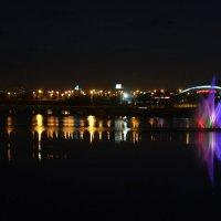 Набережная ночью :: Натали Акшинцева