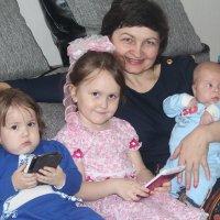 Счастливая бабушка :: Лариса Рогова