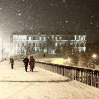 январь ночь :: Владимир Гулевич