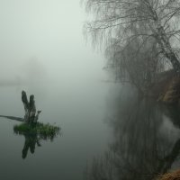 В апрельском тумане-II... :: Roman Lunin