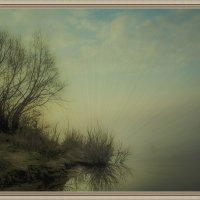 Над рекой туман... :: Андрей Чиченин