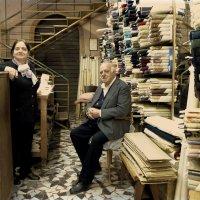 Владельцы магазина ткани :: михаил кибирев