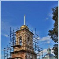 Церковь Покрова Пресвятой Богородицы в Кучках :: Дмитрий Анцыферов