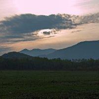Закатное небо :: Нина Борисова