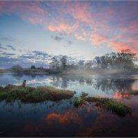 Майский вечер, река Угра... :: Александр Кукринов