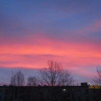 огненный восход :: Валерий A.