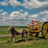 Крестьяне в поле :: Ольга Маркова