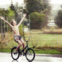 Простое мальчишечье счастье! :: Наталья Афонина