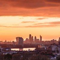 заход солнца в Лондоне :: Владимир Шманько