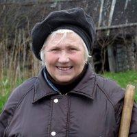 Деревня Дятькино.Дачница :: Валерий Талашов