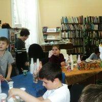 Творческий досуг продлёнки, в библиотеке. :: Ольга Кривых