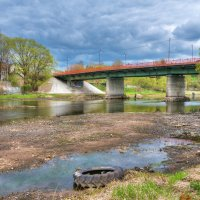 река Руза весной :: Андрей Куприянов