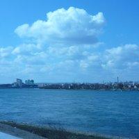 Облака над Ангарой :: Андрей