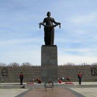 Монумент «Мать-Родина» на Пискарёвском кладбище :: Вера Щукина