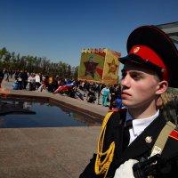 Парад кадетов на Площади Победы :: Sergey Vedyashkin
