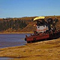 лед сошёл ремонт закончен ждем большую воду :: petyxov петухов