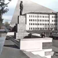 Площадь Ленина Хабаровск 1970-2015 :: Oleg Bo