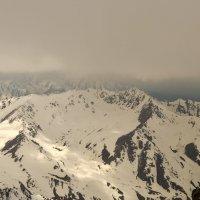 горы. вид сверху с высоты 4120 м :: Горный турист Иван Иванов