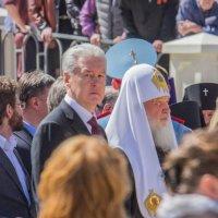 Сергей Собянин и Патриарх Кирилл :: Дмитрий Сушкин