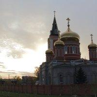 монастырь на закате... :: Ирина