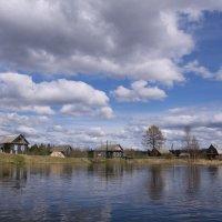 Деревня на реке Лидь. :: D. S.
