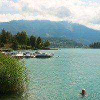 Озеро в Австрии :: Андрей Горлицкий