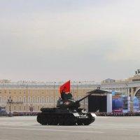 Легендарный танк Т-34 :: Вера Моисеева