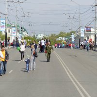 Омск, 9 мая 2015 :: Валерий Кабаков