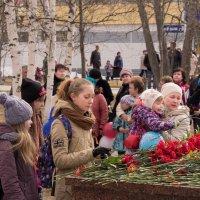 День Победы 9 Мая 2015 Возложение в дань памяти ветеранам :: Сергей Боцвинов