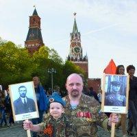 Бессмертный полк. Москва. :: Иван Бобков