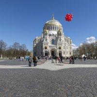 Празднование Дня Победы на Якорной площади в Кронштадте :: Valeriy Piterskiy