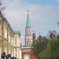 Никольская башня Кремля :: Маера Урусова