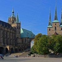Соборная площадь в Эрфурте :: Виктор Льготин