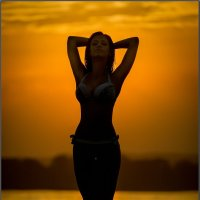 На закате... :: Андрей Сурин